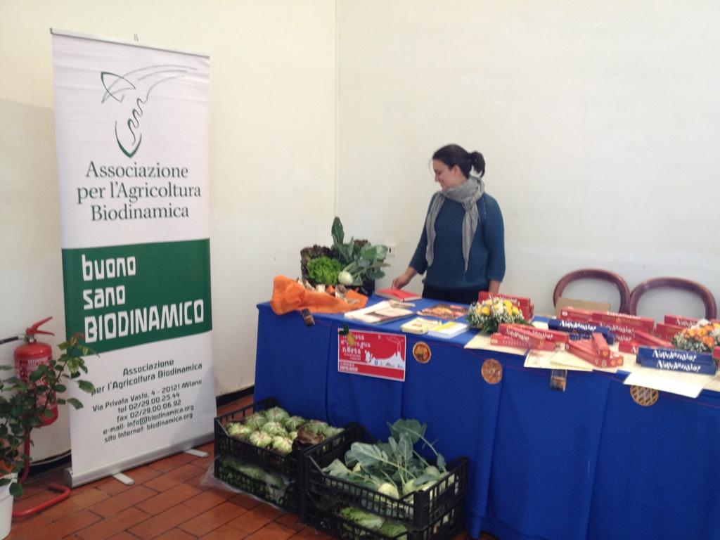 Il banco biodinamico al Maschio Angioino!